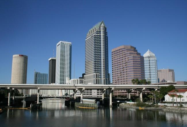 Tampa.Skyline
